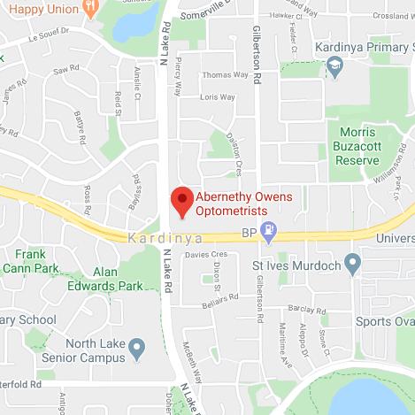 Abernethy Owens Kardinya Map Location