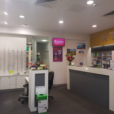 Abernethy Owens Optometrists Floreat Interior