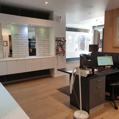 Abernethy Owens Optometrists Fremantle Interior Back