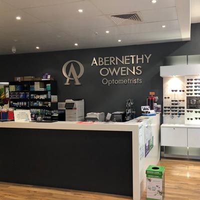Abernethy Owens Optometrists Kardinya Reception