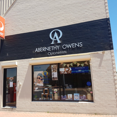 Abernethy Owens Optometrists Rockingham Exterior