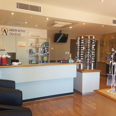 Abernethy Owens Optometrists Rockingham Interior