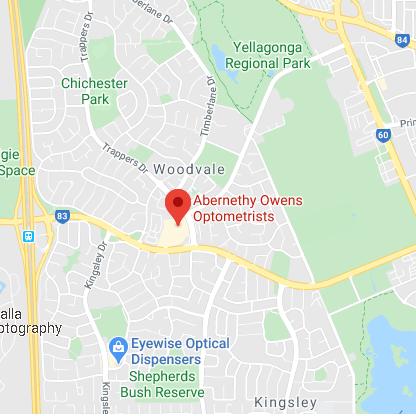 Abernethy Owens Woodvale Map Location