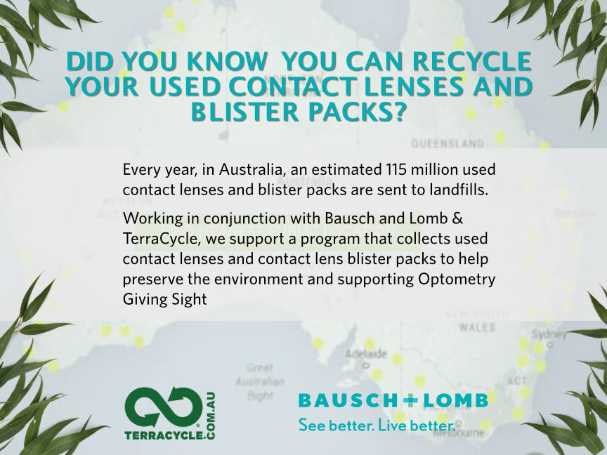 Terracycle - Contact Lens Recycling Partners