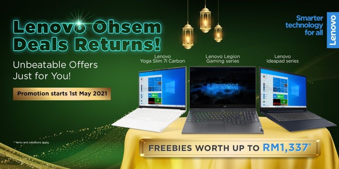 Lenovo Ohsem Deals Returns