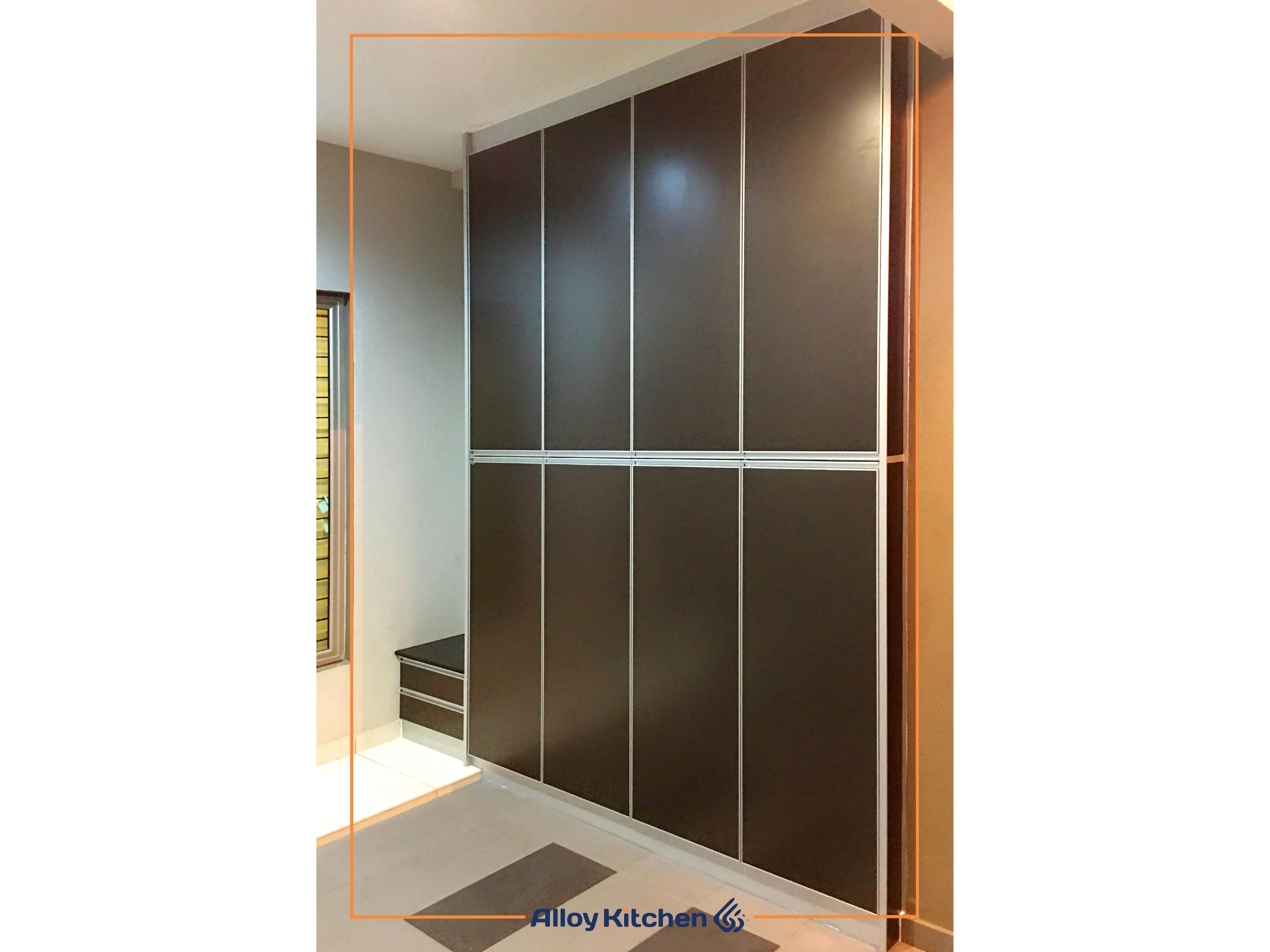 Alloy_Kitchen_Aluminium_Shoe_Rack / Alloy Kitchen Aluminium Shoe Rack / Cabinet ACP