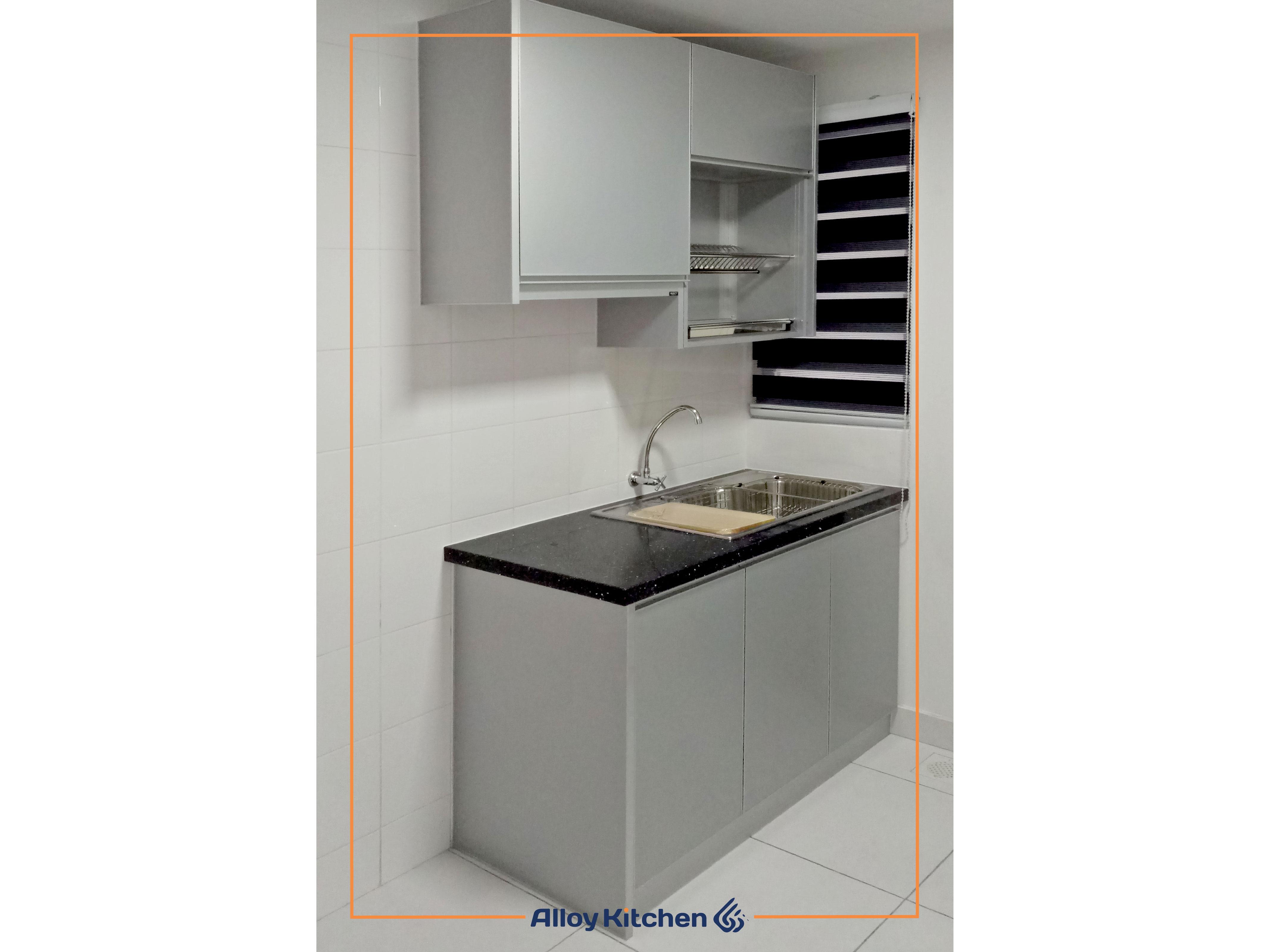 Alloy_Kitchen_Aluminium_Kitchen_Cabinet / Alloy Kitchen Aluminium Kitchen Cabinet ACP