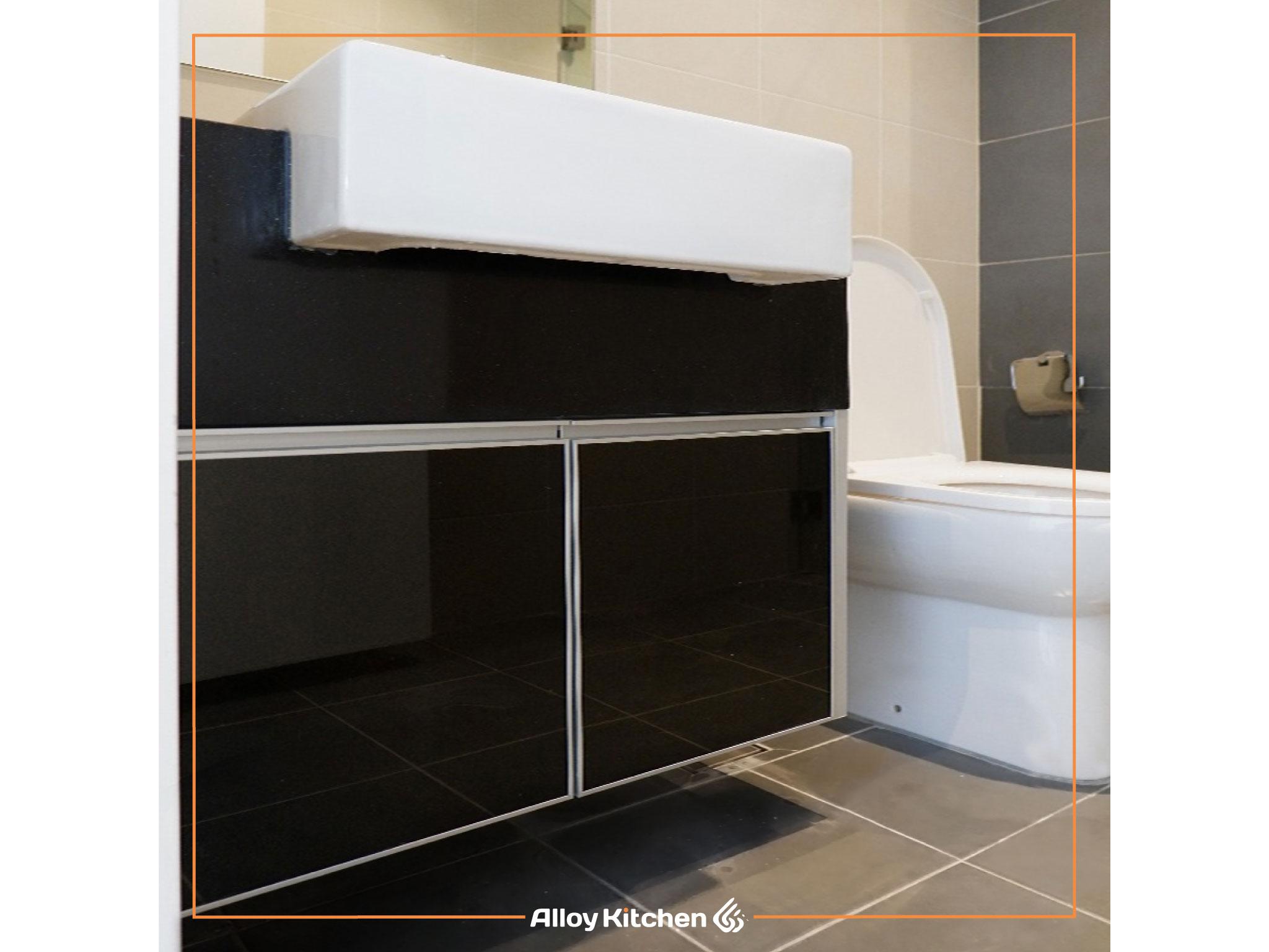Alloy_Kitchen_Aluminium_Bathroom_Vanity / Alloy Kitchen Aluminium Bathroom Vanity Cabinet ACP