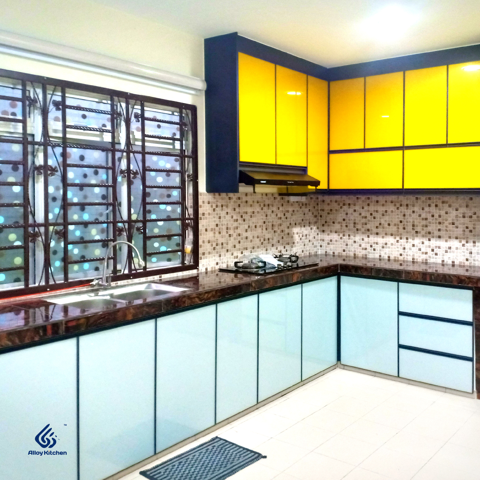 3G Series. Aluminium Kitchen Cabinet. Alloy Kitchen