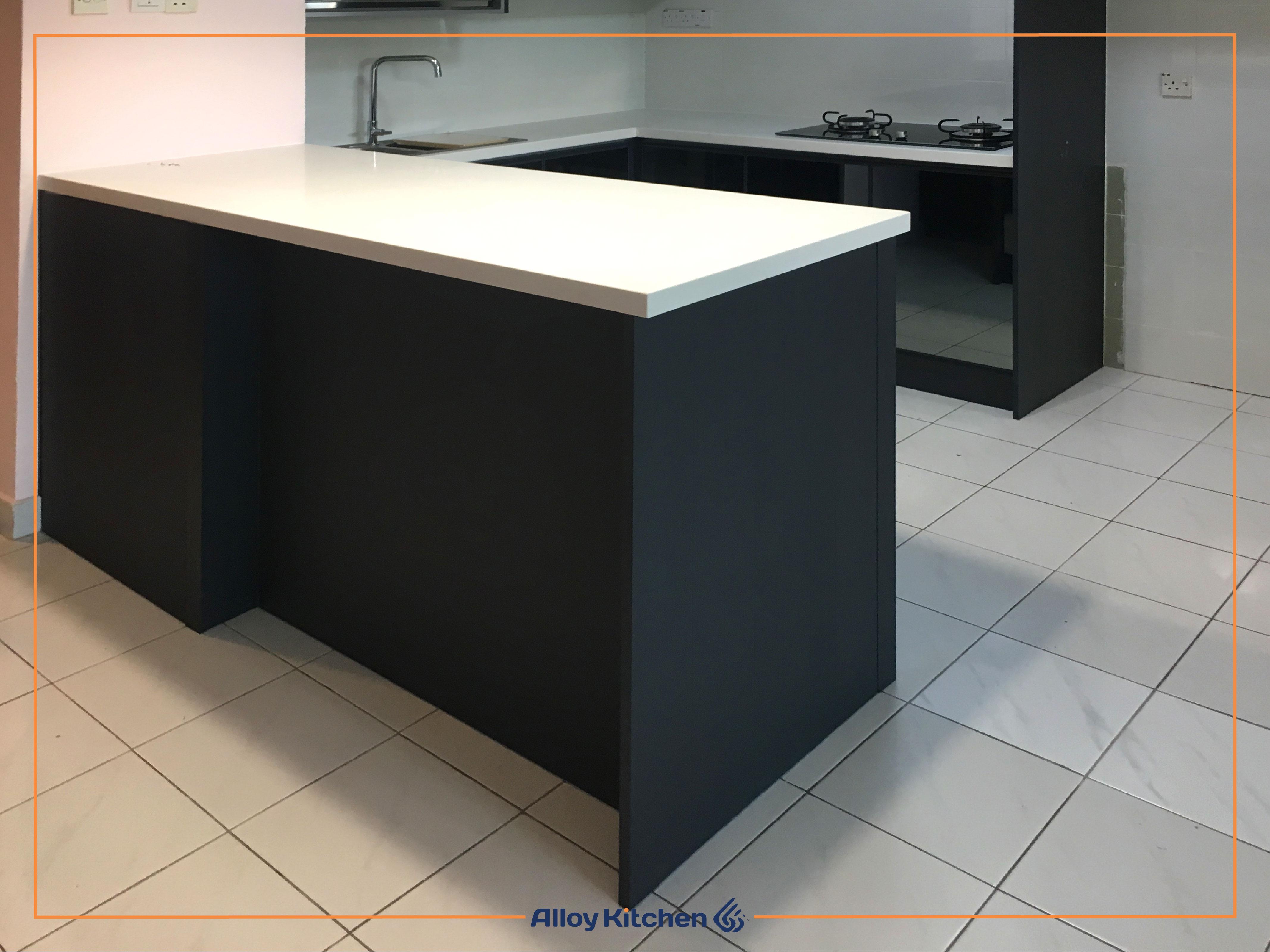 Alloy_Kitchen_Aluminium_Kitchen_Island / Alloy Kitchen Aluminium Kitchen Island