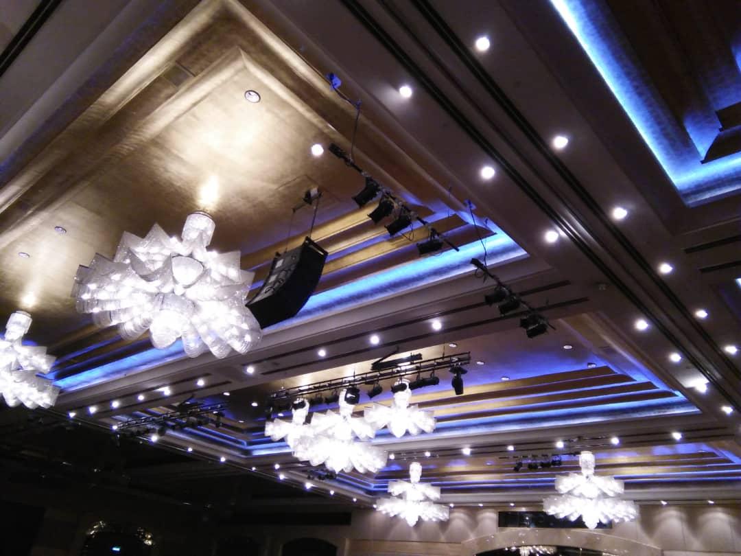RGB Lighting for Ballroom