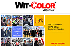 Wit-Color Gained A Successful Ending on 2015.3 Shanghai Int'l Ad & Sign Expo.