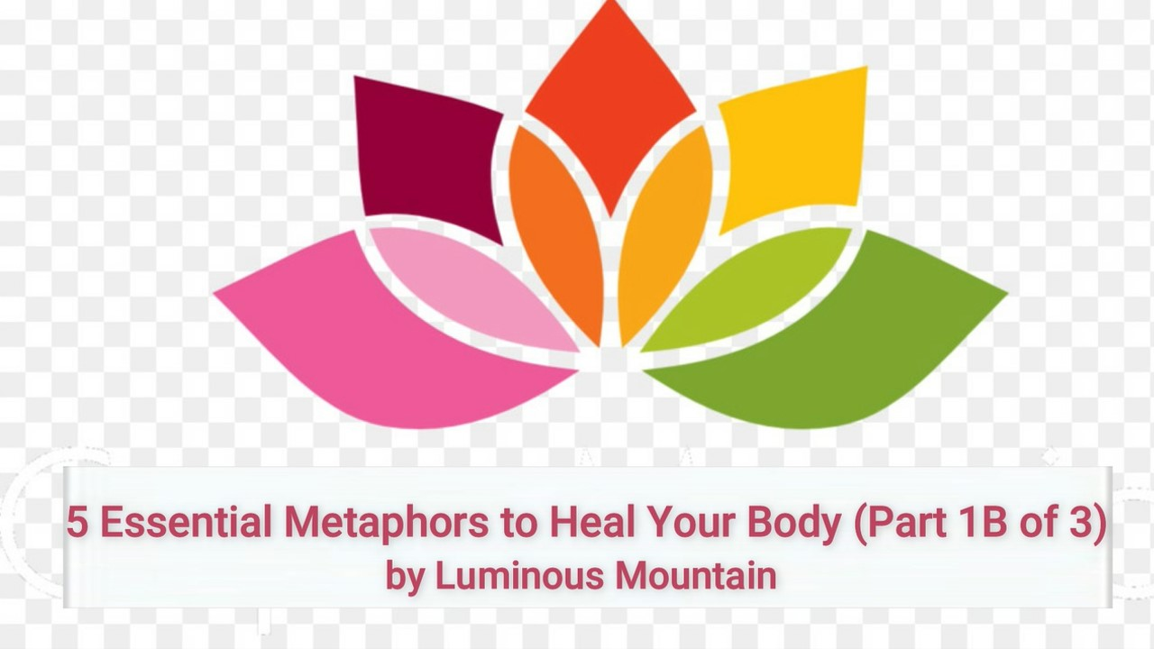 5 Essential Metaphors to Heal Your Body (Part 1B of 3)
