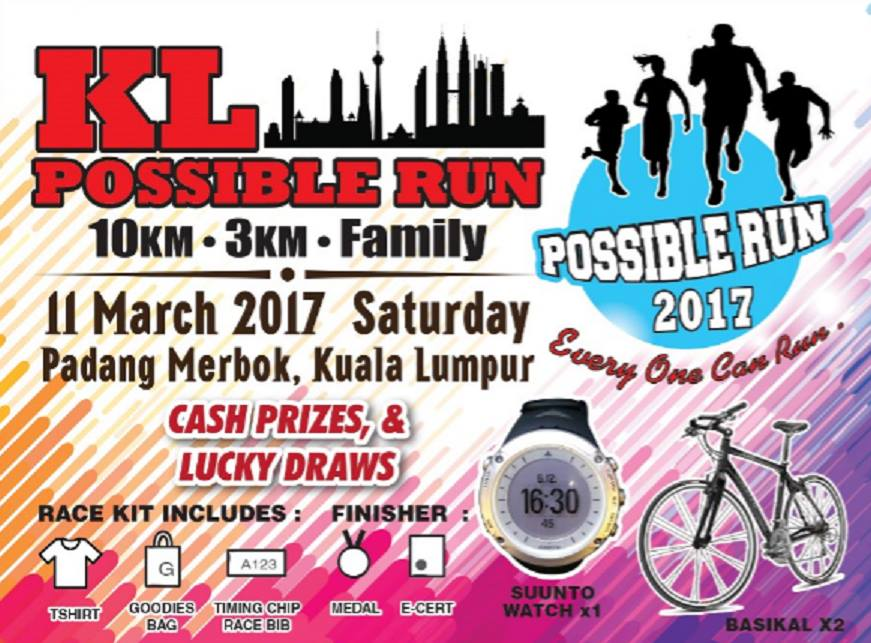 KL Possible Run 2017- Sponsorship