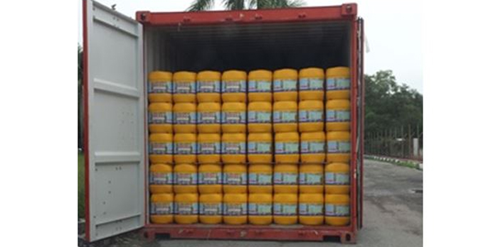 Export of UN jerrycan in container